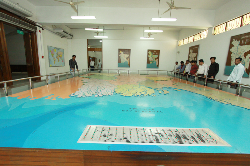 Gallery No-01. Bangladesh in Map